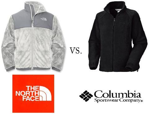 columbia vs north face